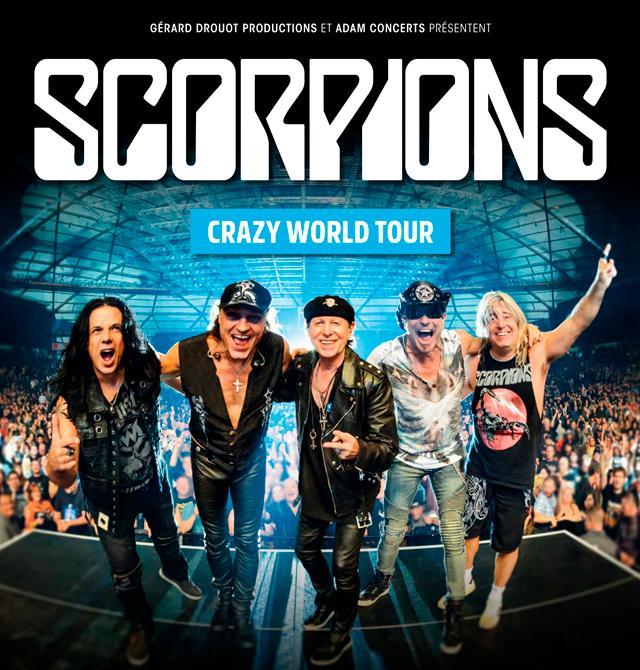 Scorpions - Crazy World Tour!