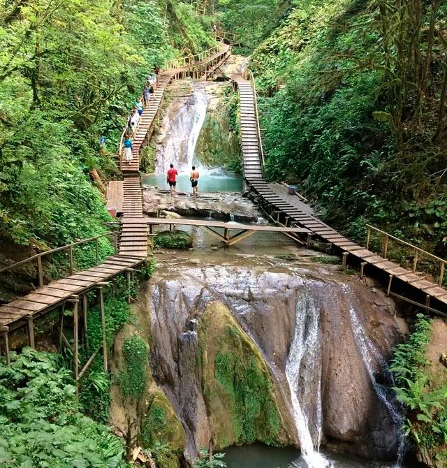 Можно будет полюбоваться на 17 из 33 водопадов