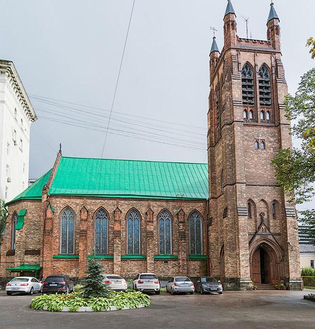 Фонд «Небесный мост». Англиканская церковь Святого Андрея