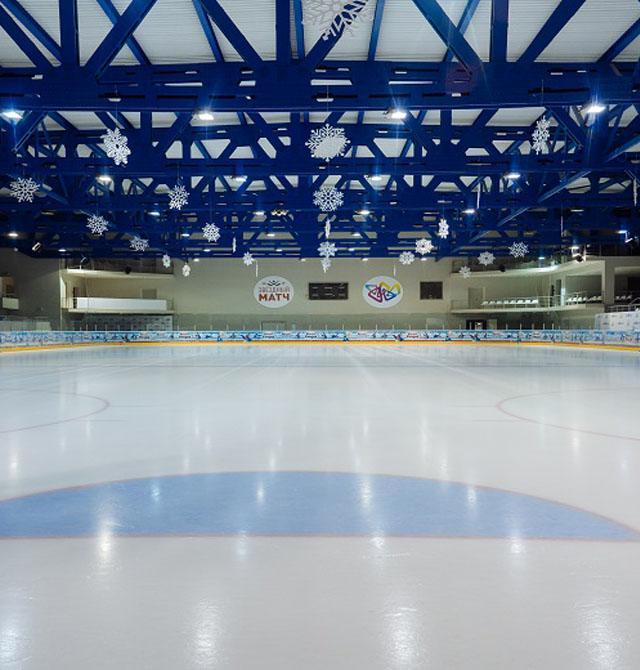 Ледовый Дворец Роза Хутор